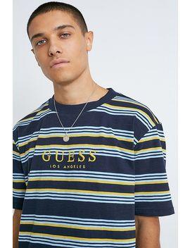 Guess Originals Horizontal Stripe T Shirt by Guess Originals