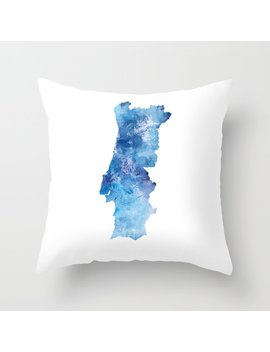 Portugal Throw Pillow by Society6