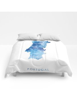 Portugal Comforters by Society6