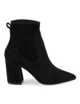 Newell Point Toe Sock Booties by Steven By Steve Madden
