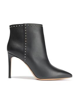 Studded Leather Ankle Boots by Valentino Garavani