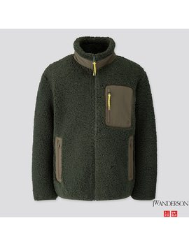 Herren Jw Anderson Windresistente Jacke Aus Fleece by Uniqlo