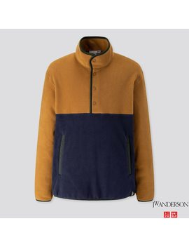 Herren Jw Anderson Fleecepullover by Uniqlo