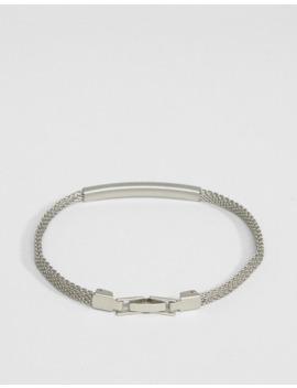 Design B London – Bransoletka Z łańcuchem W Kolorze Srebrnym by Designb