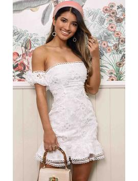 There Is A Light That Never Goes Out Dress In White by Showpo Fashion