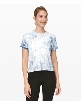 Train To Be Short Sleeve Wash by Lululemon