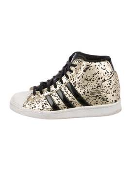 Leather High Top Sneakers by Adidas Originals X Opening Ceremony