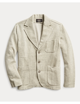 Wool Blend Jersey Blazer by Ralph Lauren