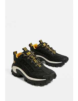 Cat Footwear Intruder Black Trainers by Caterpillar