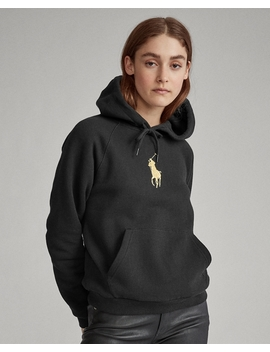 Pony Fleece Hoodie by Ralph Lauren