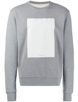 Contrast Panel Sweatshirt by Maison Margiela