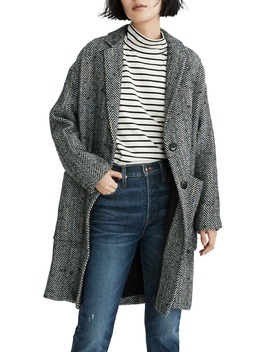 Elmcourt Herringbone Coat by Madewell
