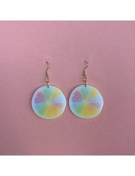 Rainbow Fruit Earrings by Etsy