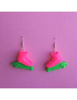 Rollerblade Earrings by Etsy
