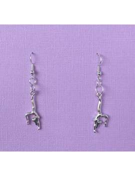 Gymnast Earrings by Etsy