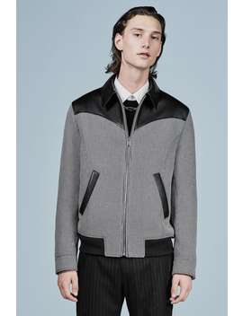 Combined Check Jacket by Zara
