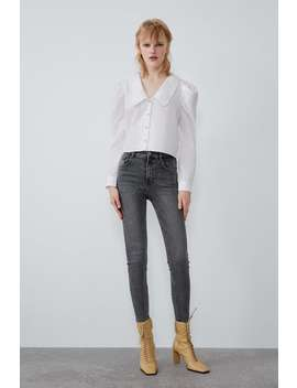 Jeans Hi Rise Skinny Vintage Ver Tudo Jeans Mulher by Zara