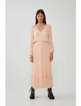 Robe À Volume PlissÉe by Zara