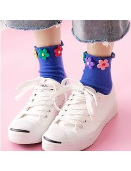 Cottonet   Flower Socks by Cottonet