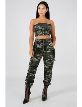 Mongui Camouflage Pant Set by Gitionline