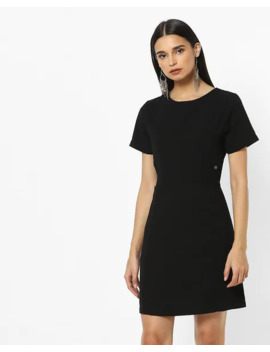Round Neck A Line Dress by French Connection