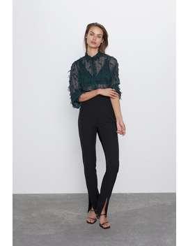 Overhemd Met Franjes by Zara