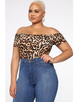 Givin' You Life Top   Leopard by Fashion Nova