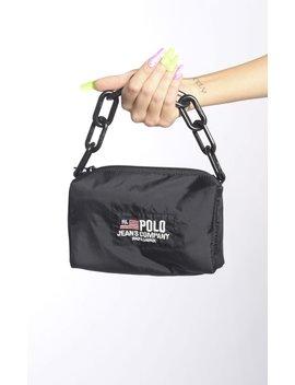 Vintage Rework Polo Sport Mini Chain Bag by Frankie.