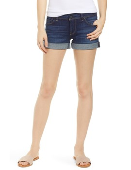 Croxley Cuffed Denim Shorts by Hudson Jeans