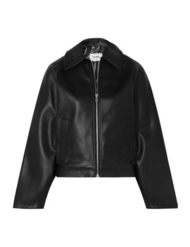 Faux Leather Jacket by We11done
