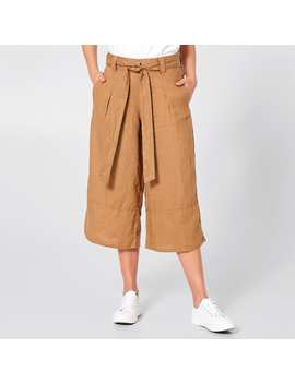 Linen Culottes   Terracotta Brown by Target