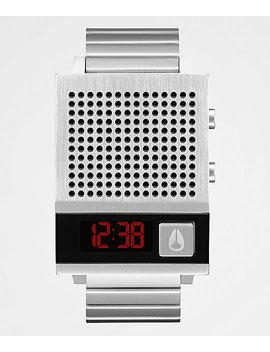 Nixon The Dork Too Silver &Amp; Black Digital Watch by Nixon Watches