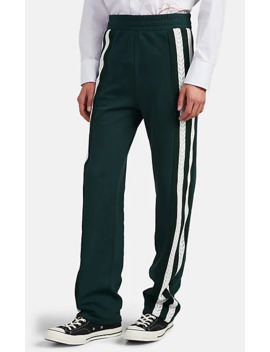 Striped Cotton Track Pants by Wales Bonner