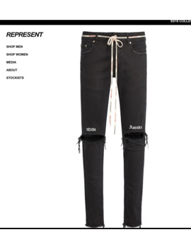 Represent Destroyer Denim by Represent Clo.  ×