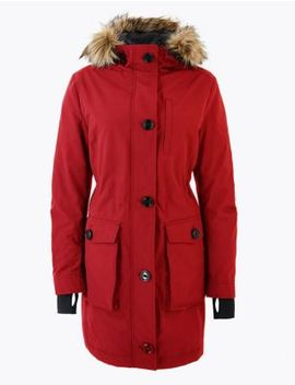 Goose Down & Feather Padded Parka by Marks & Spencer