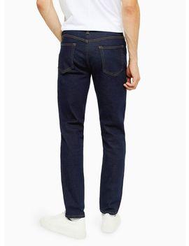 Raw Denim Slim Jeans by Topman