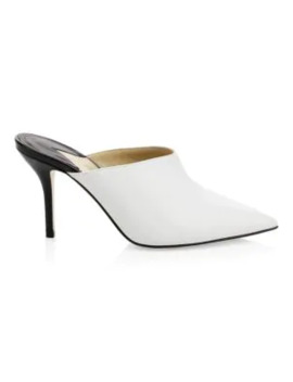 Certosa Point Toe Stiletto Mules by Paul Andrew