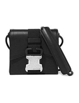 Bonnie Crystal Embellished Leather Shoulder Bag by Christopher Kane
