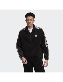 Corduroy Half Zip Jacket by Adidas