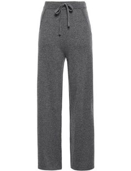 Mélange Cashmere Track Pants by N.Peal