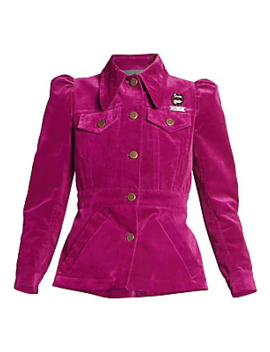 The Marchives Velvet Puff Sleeve Jacket by Marc Jacobs