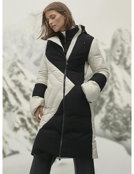 Direction Long Coat by Snowman