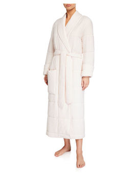 Sierra Duvet Quilted Robe by Skin