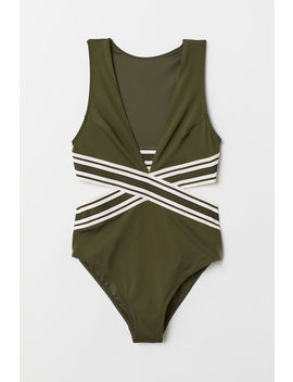 Swimsuit With Cut Outs by H&M