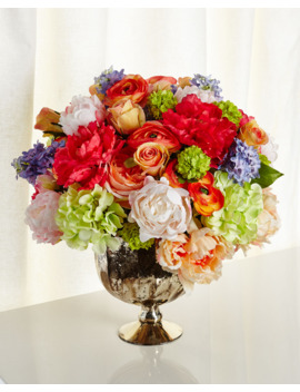 Kaleidoscope Faux Floral Arrangement by John Richard Collection
