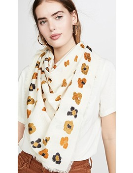 Leopard Dot Jacquard Scarf by Madewell