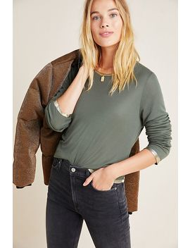 Connie Foil Trimmed Top by Zadig & Voltaire