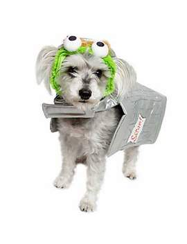 Pet Krewe Oscar The Grouch Costume For Dogs, Small Pet Krewe Oscar The Grouch Costume For Dogs, Small by Pet Krewe