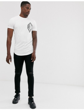 Religion T Shirt With Chest Logo In White by Religion