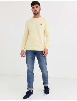 Lyle & Scott Cotton Merino Crew Jumper by Lyle & Scott